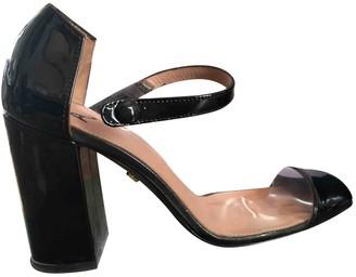ALEXACHUNG Alexa Chung Black Plastic Heels