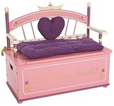 Levels of Discovery Princess Bench Seat w/ Storage