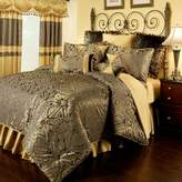Bed Bath & Beyond Austin Horn Classics Fountain European Pillow Sham in Charcoal