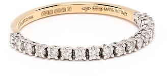 Delfina Delettrez 18kt Yellow Gold Diamond 1987 Band Ring