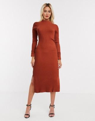Monki ribbed jumper dress