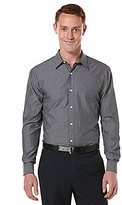 Perry Ellis Long-Sleeve Bold-Stripe Woven Shirt