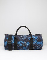 Asos Barrel Bag With Floral print