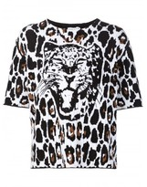 Sonia Rykiel leopard print sweater
