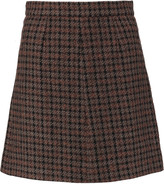 Sonia Rykiel Wool-blend tweed mini skirt