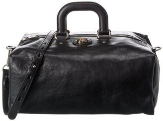 Gucci Soft Leather Duffel Bag