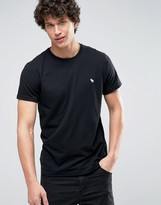 Abercrombie & Fitch Core T-Shirt Muscle Slim Fit In Black