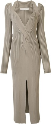 Dion Lee Cable Twist Maxi Dress
