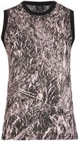 McQ by Alexander McQueen Women's Fanzine Sleeveless Top Pink