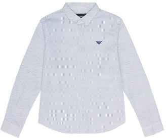 Emporio Armani Kids Cotton shirt