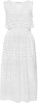 Serafini Philosophy di Lorenzo Sheer Cotton Macramé Dress