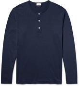 Handvaerk - Pima Cotton-jersey Henley Pyjama Top