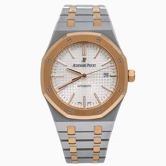 Audemars Piguet Royal Oak White gold and steel Watches
