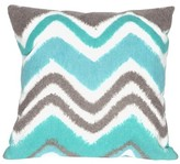Liora Manné Zigzag Ikat Indoor/Outdoor Throw Pillow
