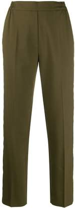 Etro elasticated waist trousers