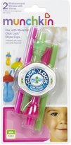 Munchkin Click Lock Replacement Straws with Valves - Girl - 2 ct