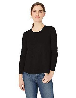 Daily Ritual Lightweight Lived-in Cotton Long-sleeve Swing T-shirt(EU M - L)