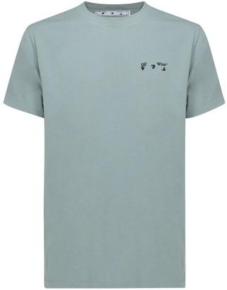 Off-White Logo Print Crewneck T-Shirt