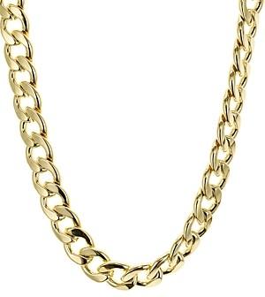 Aqua Chain Link Necklace, 17 - 100% Exclusive