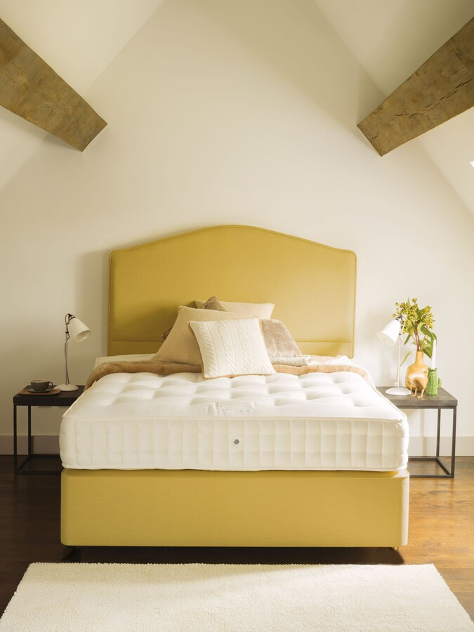 Thumbnail for your product : John Lewis & Partners Natural Collection Swaledale Wool 11400, King Size, Medium Tension Pocket Spring Zip Link Mattress