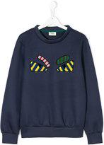 Fendi teen appliqué sweatshirt