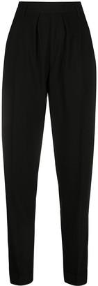 Ann Demeulemeester high-waisted tapered-leg trousers