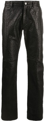 Alyx Textured Straight Trousers