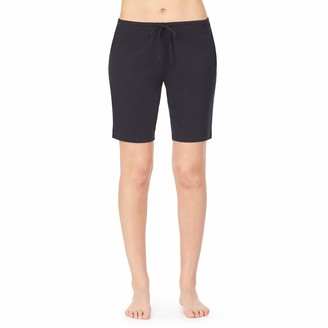 Nautica Women's Bermuda Sleep Shorts 100% Cotton Jersey