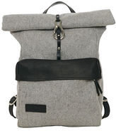Lowell Dickson Two-Tone Full-Grain Leather Backpack