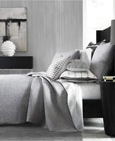Hotel Collection Colonnade Dusk Quilted King Coverlet