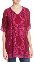 Johnny Was Montak Embroidered Tunic