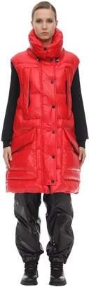 Moncler Myra Tech Nylon Lacque Vest