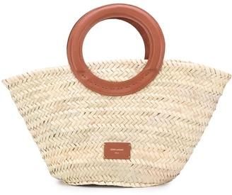 ZEUS + DIONE Scorpio circular handles tote bag