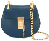 Chloé Mini Drew shoulder bag - women - Calf Leather/Calf Suede - One Size