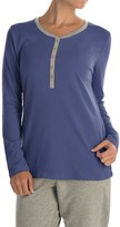 Calida Favourites Trend Pajama Shirt - Long Sleeve (For Women)