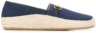 Gucci GG Supreme espadrille loafers