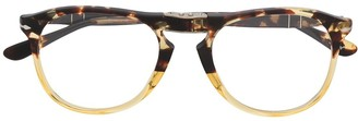 Persol Foldable Round Glasses