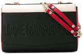 Love Moschino double chain trim bag - women - Polyurethane - One Size