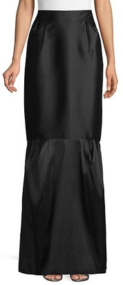 Valentino Wool-Blend Maxi Skirt