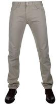 Giorgio Armani Jeans J45 Slim Fit Trousers Beige