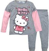 MITIAO Little Girls Cartoon Cat Long Sleeve Clothing Two Piece Set