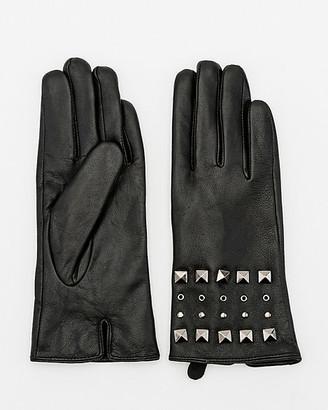 Le Château Studded Leather Gloves