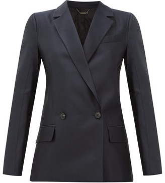 Givenchy Double-breasted Wool-blend Twill Suit Jacket - Black