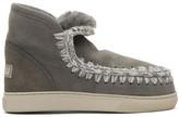 Mou Grey Mini Eskimo Sneaker Boots