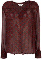 Etoile Isabel Marant 'Bowtie' blouse