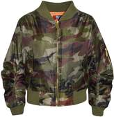 A2Z 4 Kids® Kids Jacket Girls Boys Camouflage Bomber Padded Zip Up Biker Jacktes MA 1 Coat