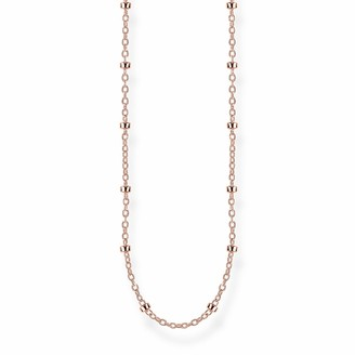 Thomas Sabo Women Silver Sautoir Necklace KE1890-415-40-L80