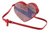 Little Marc Jacobs Girl's On Stage Heart Shoulder Bag - Red