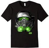 Star Wars Rogue One Death Trooper Helmet Print T-Shirt