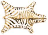 Jonathan Adler Carnaby Zebra Stacking Dish - Gold